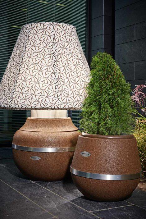 Lampe Gratus Ranke in Kombination mit Stilum Design Vase 2