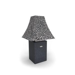 Outdoor Lampe Linea mit Lampenschirm Leo