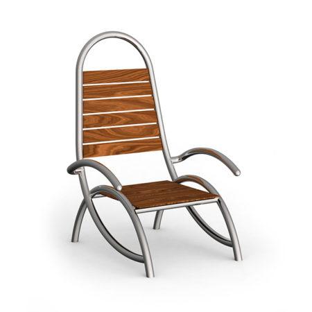 Stilum Gartenmöbel am Beispiel des Design-Stuhls Ames