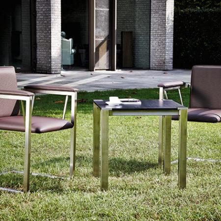 Outdoor Living Gartenstuhl Amicus in Kombination mit Tisch Hortus