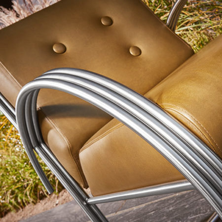 Outdoor Sessel Sellus aus der Nähe