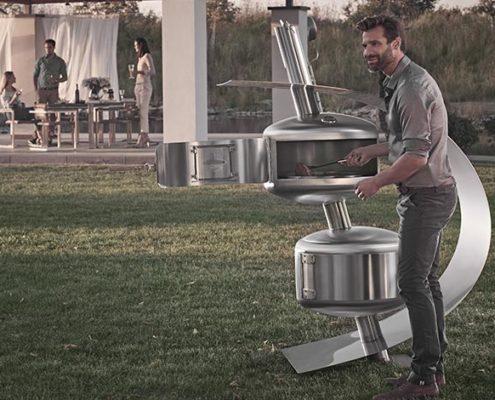Outdoor Living mit Design Smoker Fumus