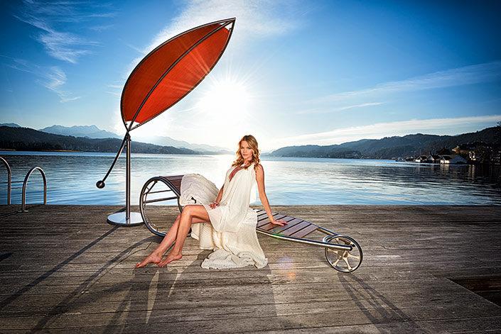Outdoor Living mit Sonnenschutz silva von stilum