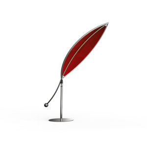 Sonnenschutz Silva in rot aus Edelstahl