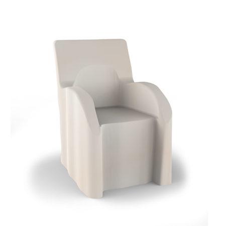 Weisse Husse für alle Outdoor-Gartenstühle von stilum