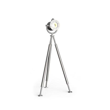 Outdoor Spotlampe lumos1 von Stilum aus Edelstahl