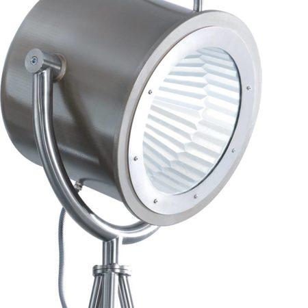 Scheinwerfer der Spotlampe Lumos2 in der Nahaufnahme