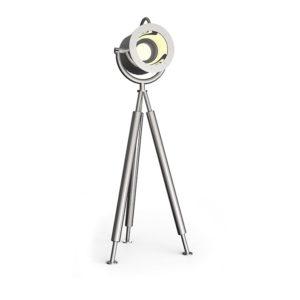 Outdoor Spotlampe Lumos2 aus Edelstahl mit großem Spot